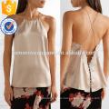 Кружевом шелк-чармис камзол Производство Оптовая продажа женской одежды (TA4094B)