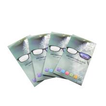 Оптовая Custom Microfiber Antifog очки очистки ткани
