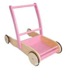 Wooden baby cart for baby play