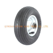rubber wheel steel rim