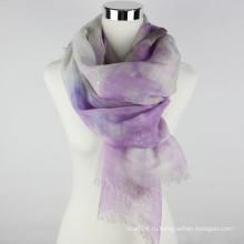 Новый дизайн высокого качества белья 2016 шарф с горячим серебром