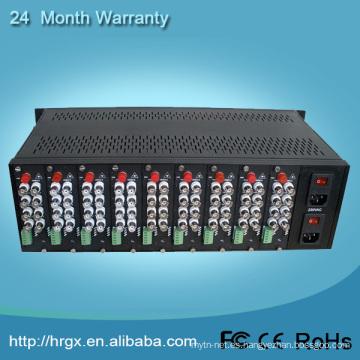 Video multiplexor 4u 16slots montaje en rack chasis del servidor