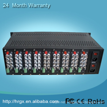 Video multiplexer 4u 16slots rack mount server case chassis
