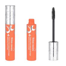 Custom Silver And Orange Mascara Tube