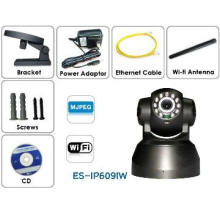 night vision network  Pan and Tilt IP Wireless security camera P2P