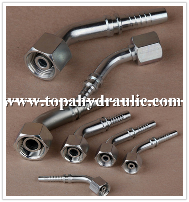 aeroquip mild steel nitrogen hydraulic pipe fittings
