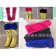 Новые дизайнерские женские носки / высококачественные флисовые носки / новый дизайн флисового носка