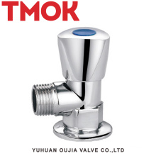 chromed plated brass angle renewable seat valve