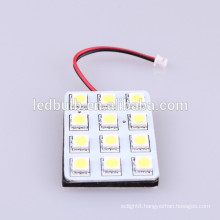 12SMD 3528 DC12V/24V led dome light , led auto lamps for interior