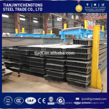 steel h beam weights pile for building h beam made by factory