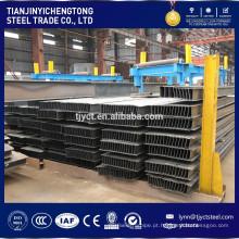 pilha de pesos de feixe de aço h para a construção de viga h feita por fábrica