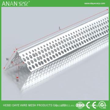 Cuenta de esquina galvanizada de pared seca / cuenta de ángulo