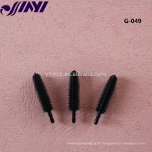G-049 wholesale eyelash brush silicone mascara brush head