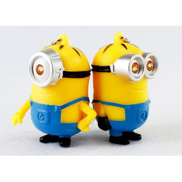 Minion Silicone Key Chain with CE RoHS FCC