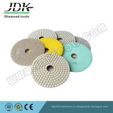 Tampons à polir diamantés avec vis