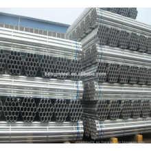 Lista de precios de tubería de acero pre galvanizado de construcción soldada
