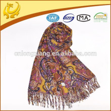bright color and factory wholesale large pashmina shawls wool