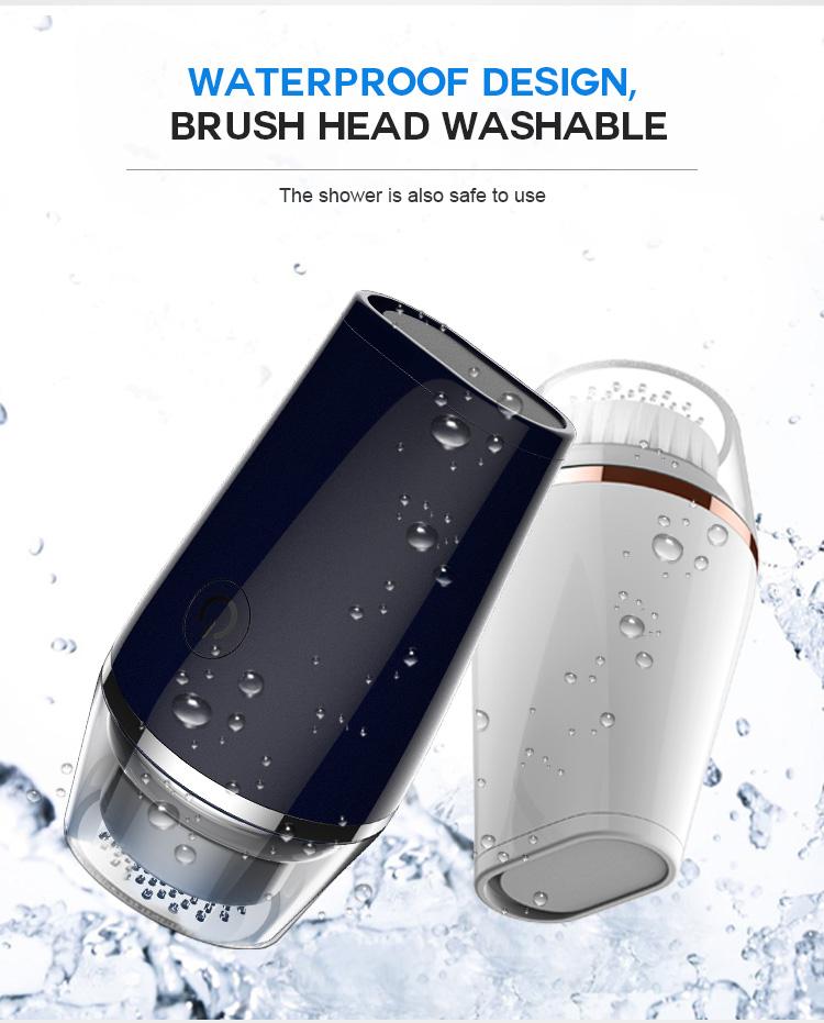 facial cleansing brush conair