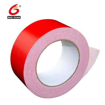 Double sided solvent PE foam tape