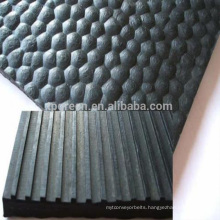 Anti-Slip hammer rubber cow mat in rolls