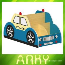 Mobilier de maternelle Design de voiture Stockage de livres pour enfants
