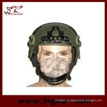 Capacete tático de Ibh com Nvg Mount & lado trilho ação versão capacete