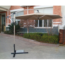 Garden Hanging Luminous Shining Frame Sun Umbrella