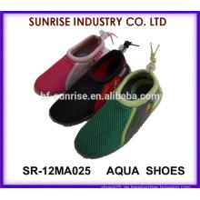 SR-12MA025 Populäre Jungen weiche TPR Haut Schuhe Wasser Schuhe aqua Schuhe Wasser Schuhe Surfen Schuhe
