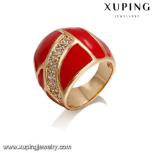 14408 Fashion jewelry finger ring, latest 18k gold color ring designs for girls