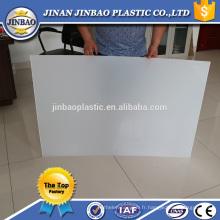 Chine usine vente chaude 1.8mm 2mm 3mm 6mm pp feuille de plastique