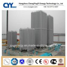 High Pressure Liquid Oxygen Nitrogen Argon Ambient Liquid Gas Vaporizer