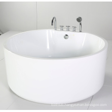 Round Freestanding Bathtub with Acrylic