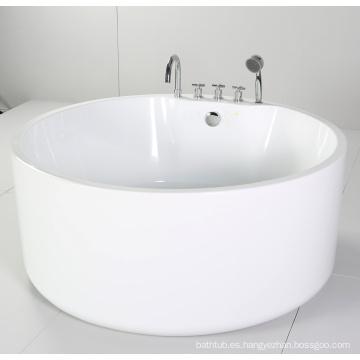 Bañera redonda independiente con acrílico