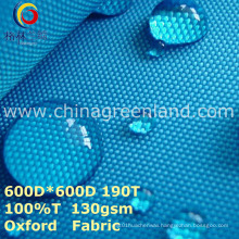 Woven Polyester Oxford Plain Fabric for Garment Bag (GLLML274)
