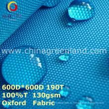 Сплетенный полиэфир Оксфорд обычная ткань для мешок одежды (GLLML274)