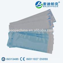 Bolsas de papel esterilizadoras para uso hospitalario