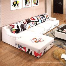 Venta directa de la fábrica Diseño nuevo Morden Sofá moderno del pasillo Diseño