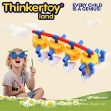 Neues ABS Ameisen-Entwurfs-kreatives buntes Gebäude-Spielzeug