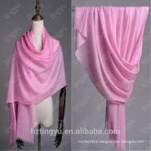 Texted Material Mongolia whosale stocked plain colorful winterwomen custom printed 100% real wool shawl scarf