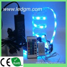 Taiwan Epistar 7.2W / M 5050 RGB flexível tira de luz
