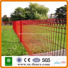 Panneau de clôture grillagée