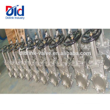 4 Inch Dimension Pn16 Price 100mm 50mm Ansi Stainless Steel Cf8m Lug Knife Gate Valve Standard