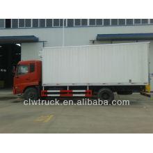 Dongfeng 4X2 congelado congelador de camiones para el transporte de alimentos