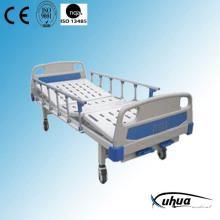 Moveable 2 Cranks Manual Adjustable Hospital Medical Bed (B-9)