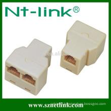 Telephone accessory 2-Line, T-Jack Modular Triplex Adaptor