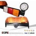 12 V LEVOU Barra de Luz de Mineração Sinal De Aviso de Emergência Girando Âmbar Piscando Mini luz com Worklight