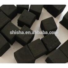 carvão vegetal de casca de coco