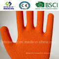 10g Polyester Shell Latex Coated Safety Work Glove (R501)
