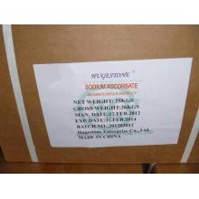 Ascorbato de sódio Bp98 / USP24 (C6H7NaO6) (CAS: 134-03-2)