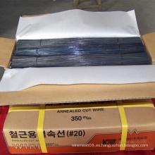 Alambre de corte negro para alambre de unión de construcción